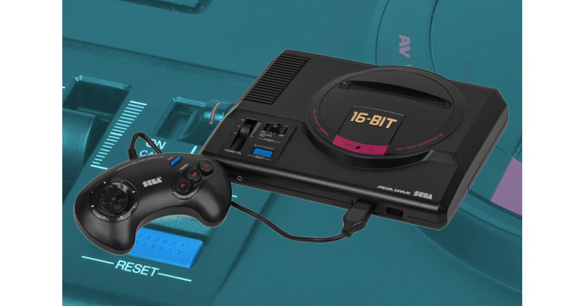 Half the Mega Drive Mini's games have been revealed