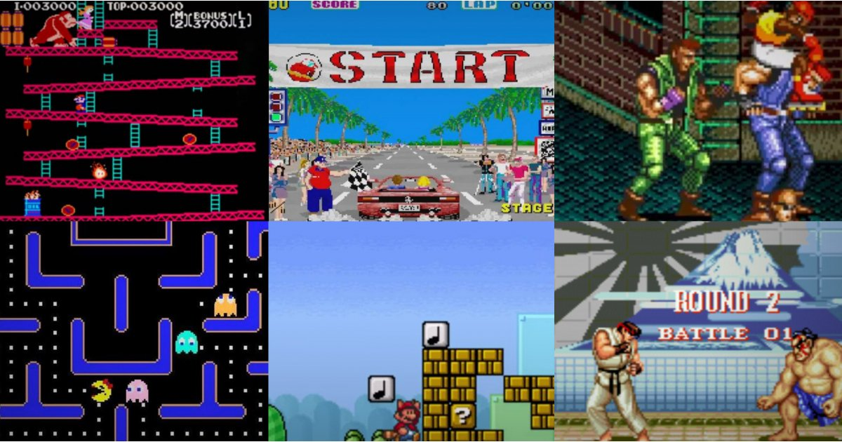 Retro gaming: the best games we all used to play