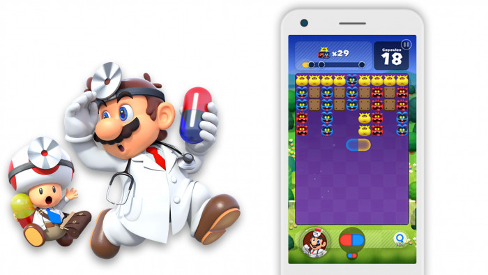 Nintendo classic Dr  Mario is certain to become your next mobile