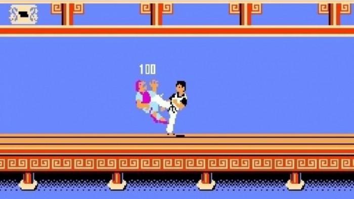 Super bros kung-fu mario game over