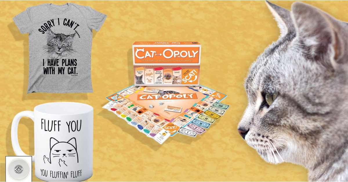 Best gifts for cat lovers: brilliant cat gifts revealed