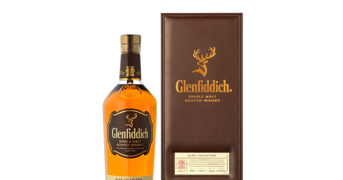 This Glenfiddich ultra-rare whisky is a thing of beauty