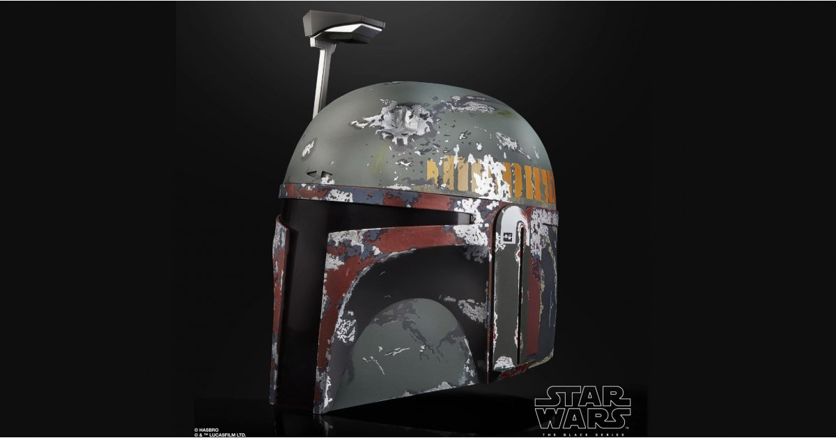 This official Boba Fett helmet will be the must-have toy in 2020