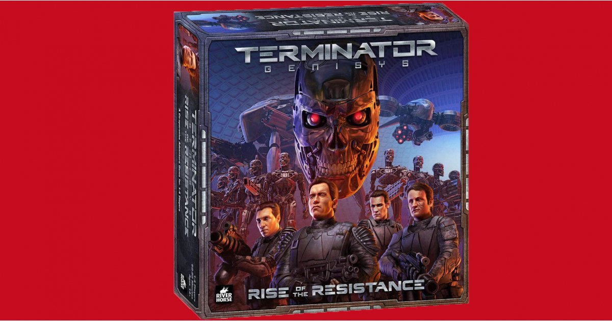 There's now a Terminator board game that doesn't suck