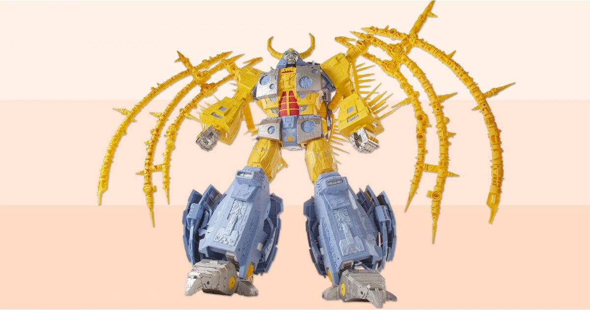 The biggest Transformers toy ever is coming - make way for a two-foot Unicron