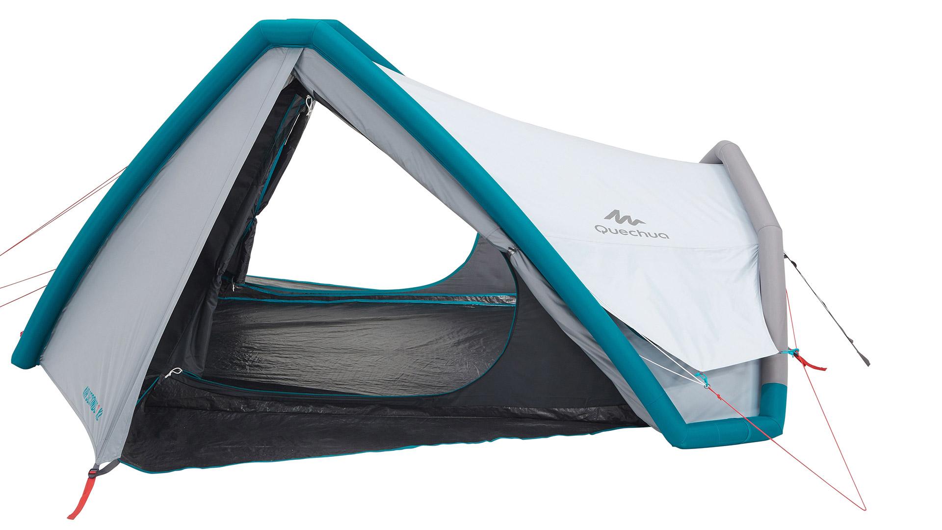 Quechua 2 Seconds 3 XL Fresh Black 3 Person Camping Tent Outdoor Waterproof 2019
