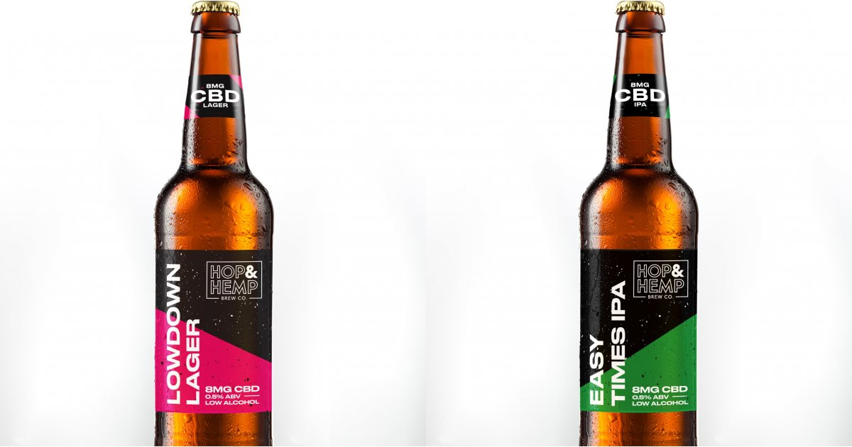 The world's first CBD-infused, low-alcohol beer is here