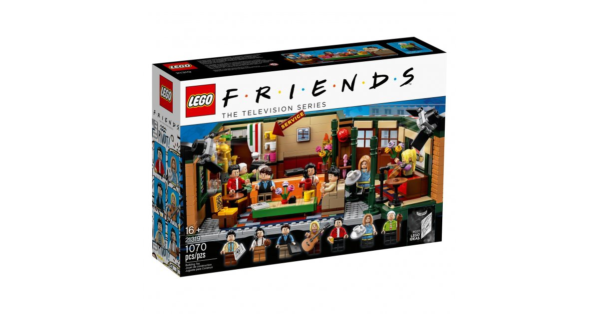 The Friends Lego set is real and is the 90s throwback we need