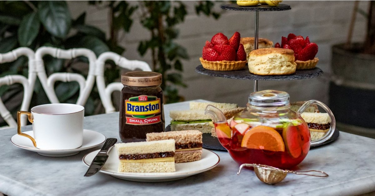 Branston Pickle-infused tea might be the strangest brew you'll ever try