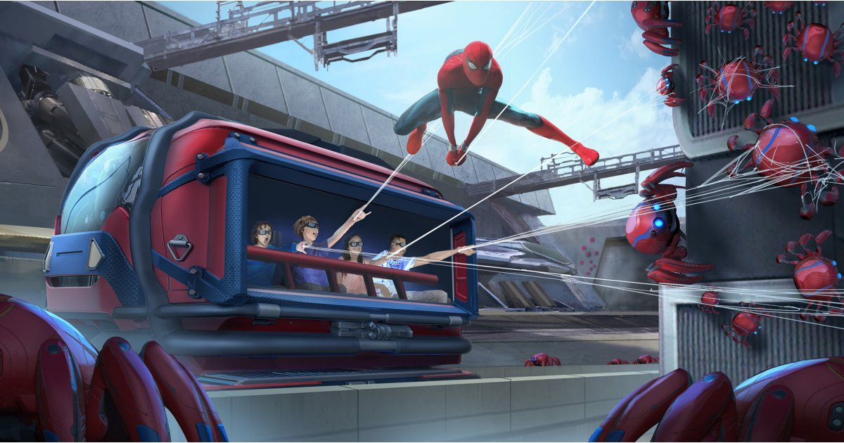 New Avengers, Spider-Man and Black Panther rides are coming to Disney