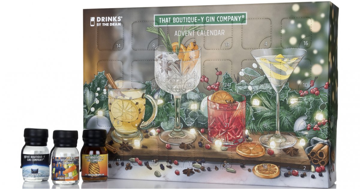 Exclusive: That Boutique-y Gin Company's advent calendar arrives and is full of Christmas spirits