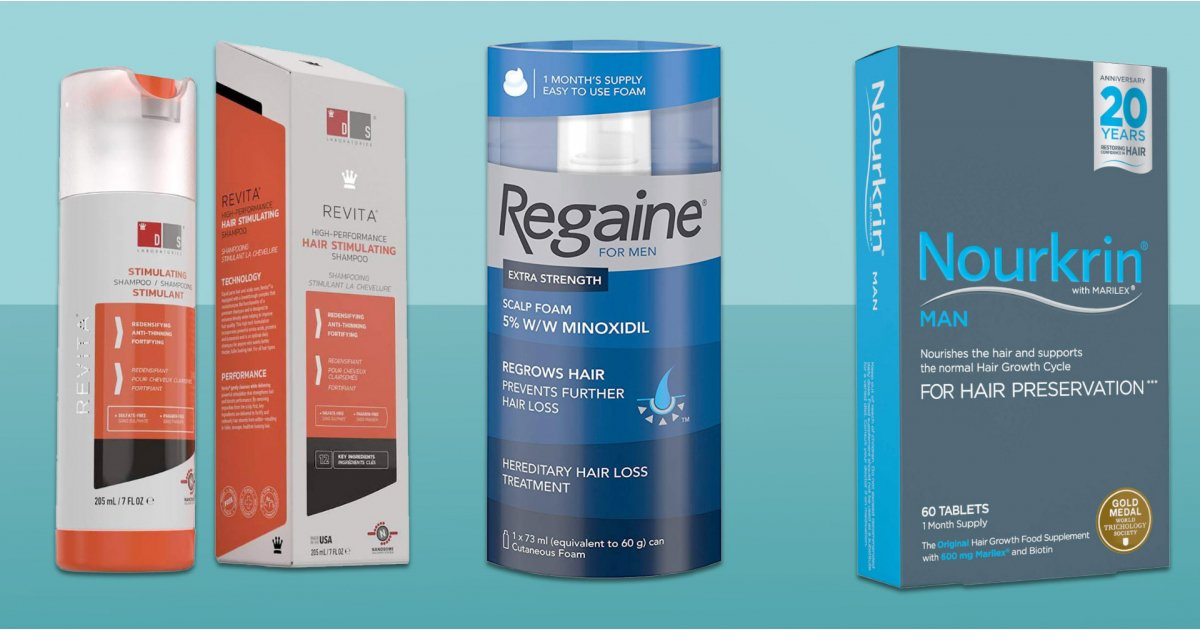Best hair regrowth products for men
