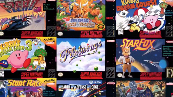 Nintendo Switch: 20 new SNES games available now