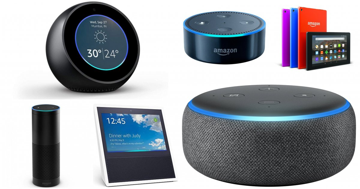 10 huge Amazon device deals: get up to 55% off an Echo Dot and more