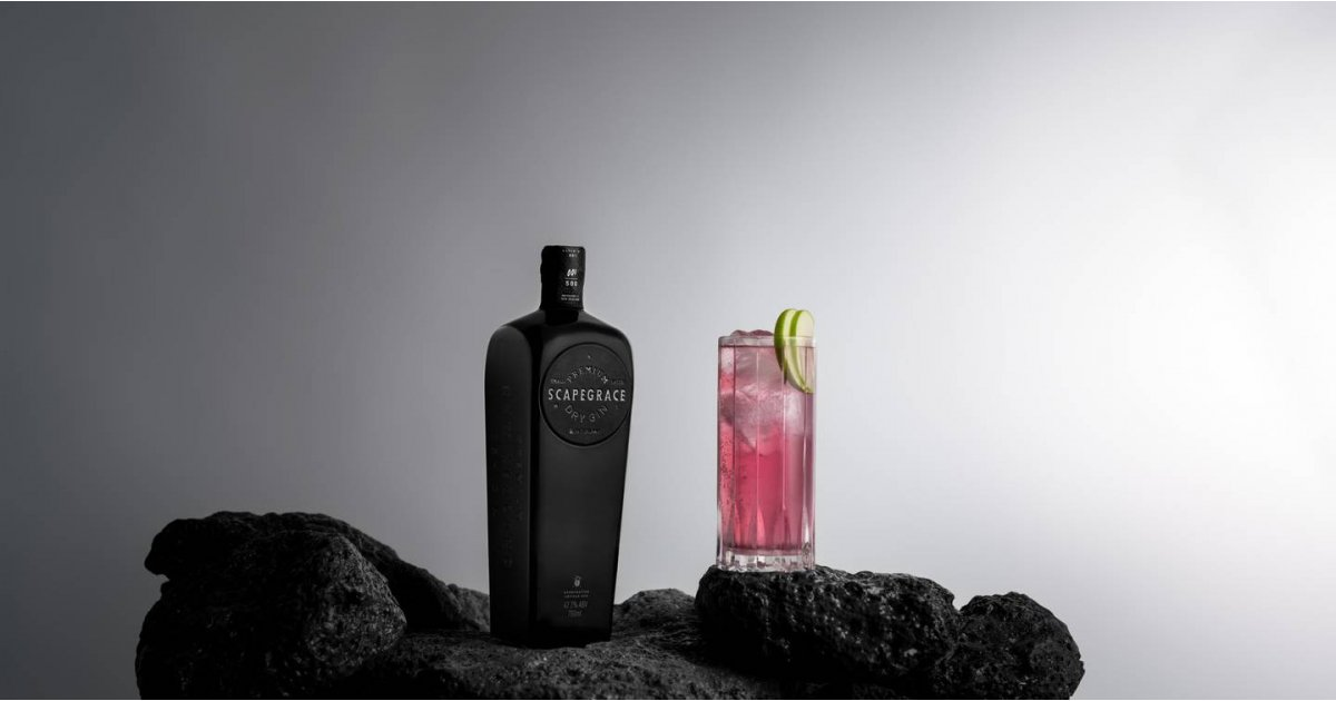 The world's first naturally black gin is here but you can't have it just yet
