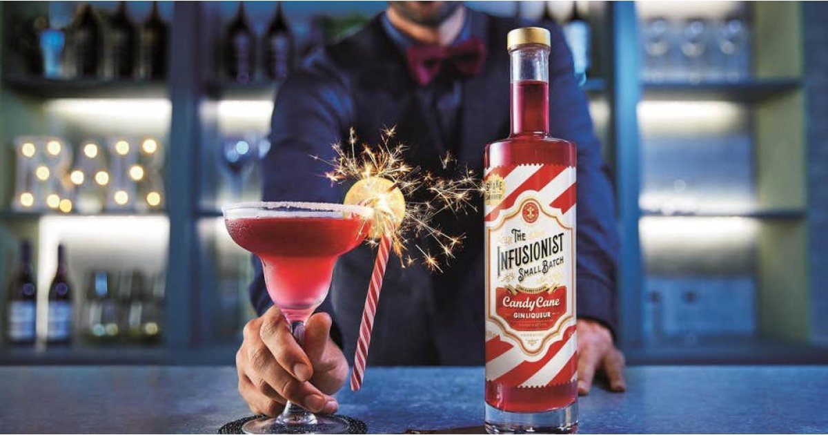 You can now get candy cane flavoured gin