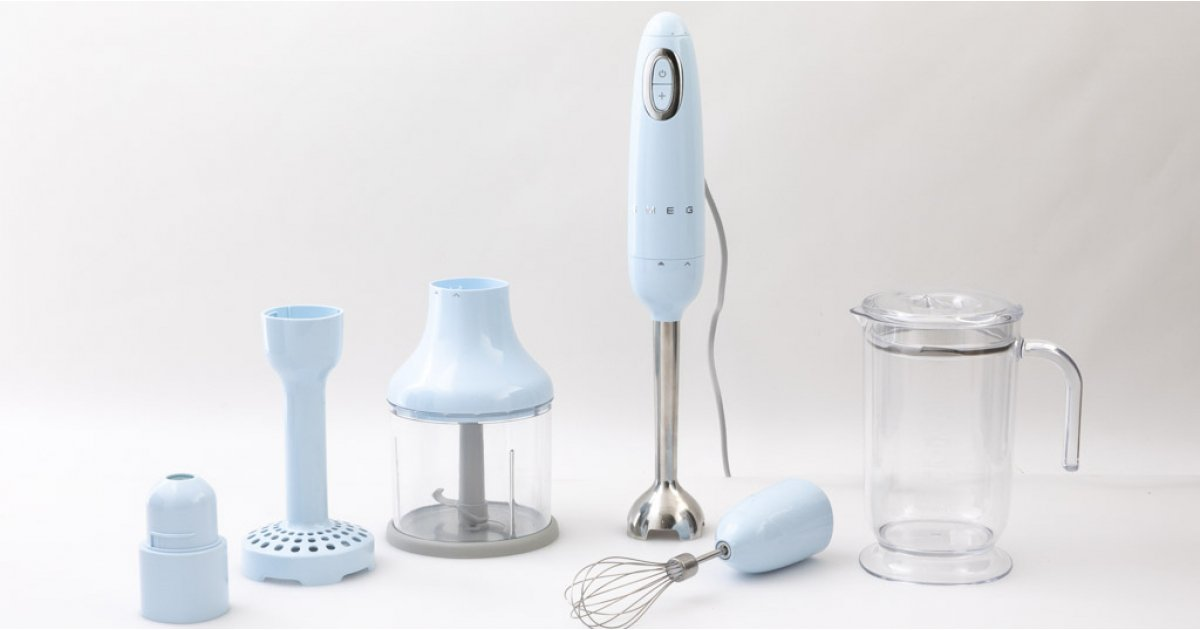 Hand Blender Set, 700 W, White, Plastic