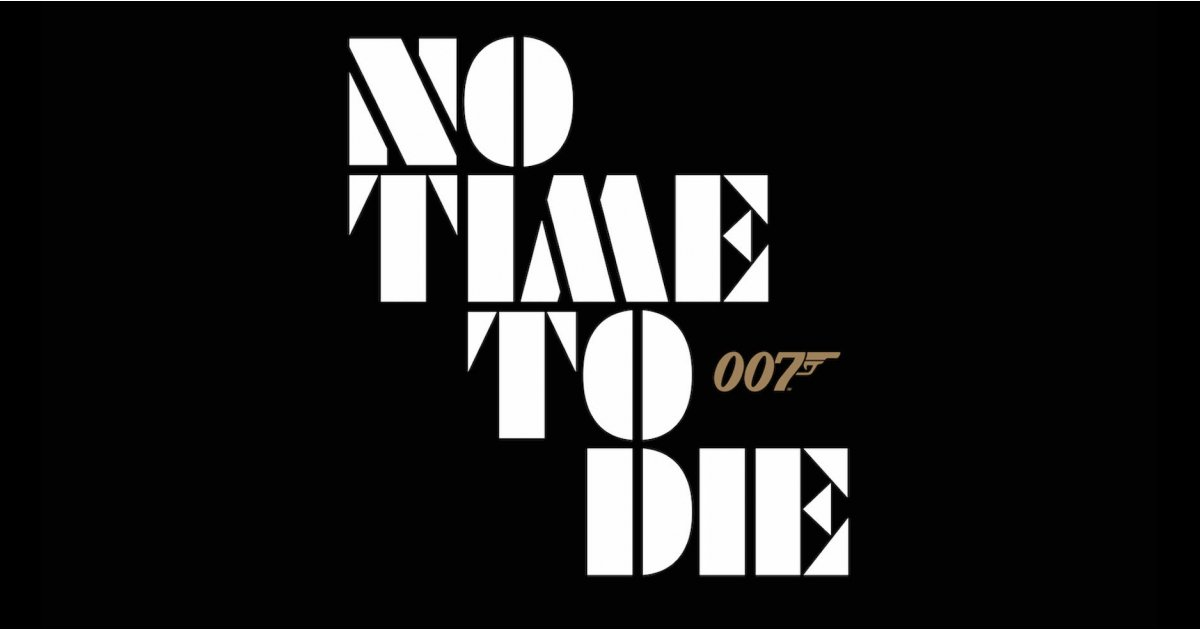 James Bond Day surprise! No Time To Die poster revealed