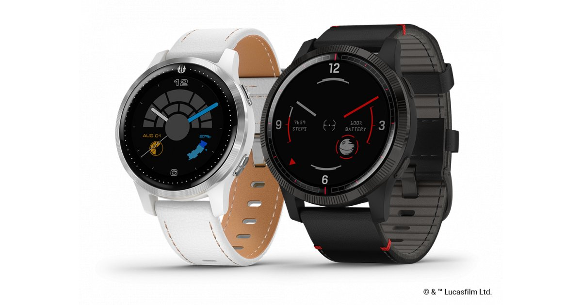 Garmin's Legacy Saga Series are Star Wars-themed watches you'll actually want to buy