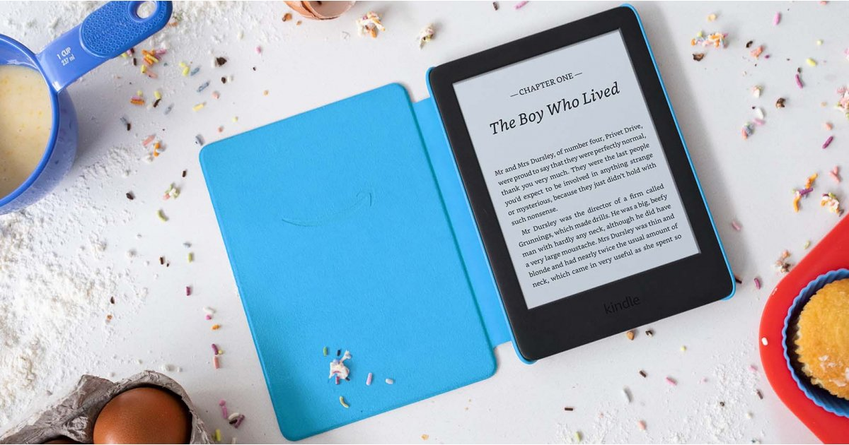 Kindle Kids Edition: this kid-friendly Kindle comes packed with ebooks