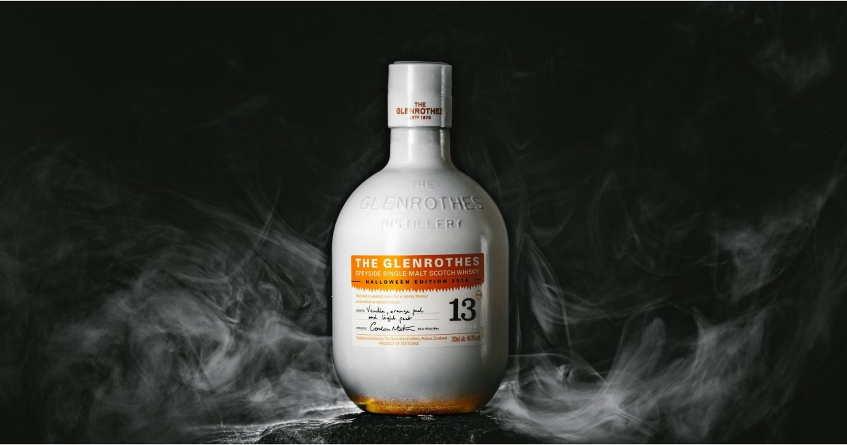 This limited-edition single malt whisky wants to be the true spirit of Halloween
