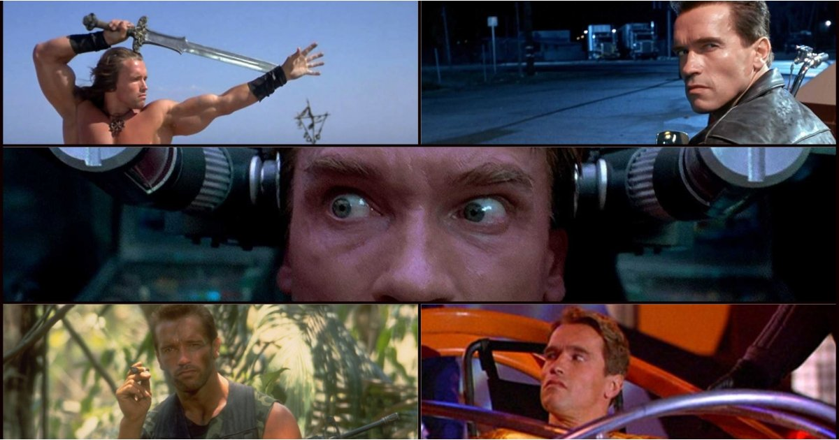 The best Arnold Schwarzenegger movies, ranked