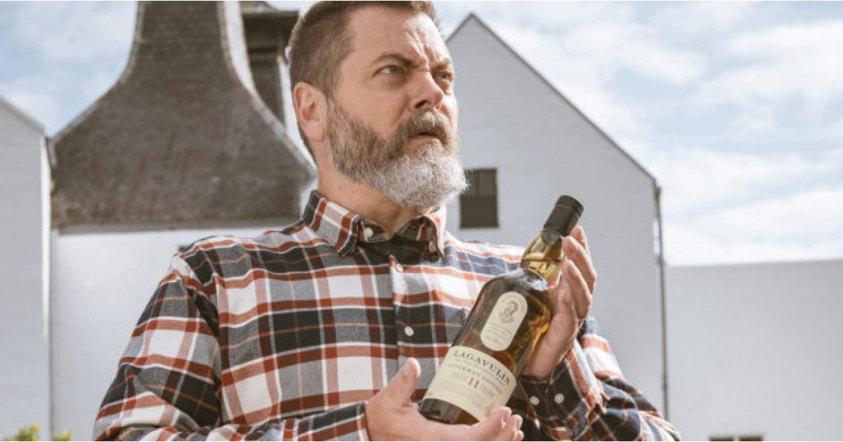 Parks and Rec's Nick Offerman channels Ron Swanson as he launches new whiskey
