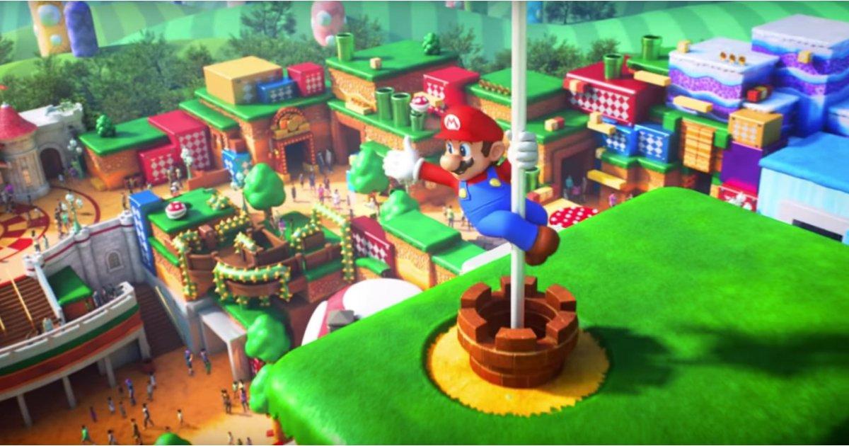 Universal Studios' Super Mario World first look: gaming heaven!