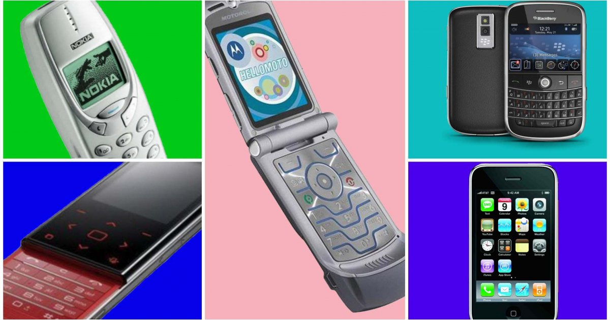 The greatest mobile phones of all time, ranked