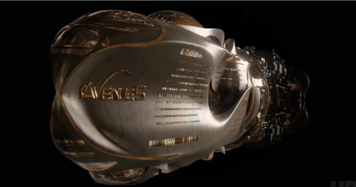 The trailer for Armando Iannucci's space comedy Avenue 5 has landed