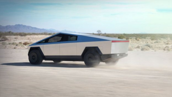 Tesla's new bulletproof 'Cybertruck' is Mad Max in real life