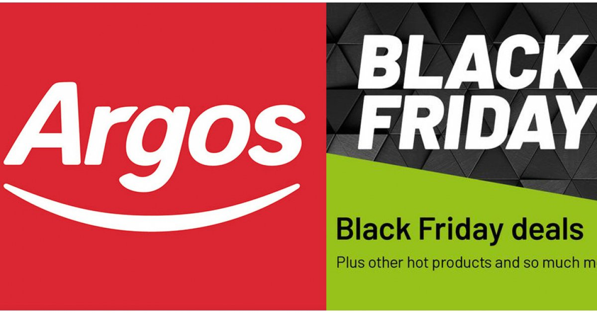 Black Friday and Cyber Monday deals start at Argos with 12