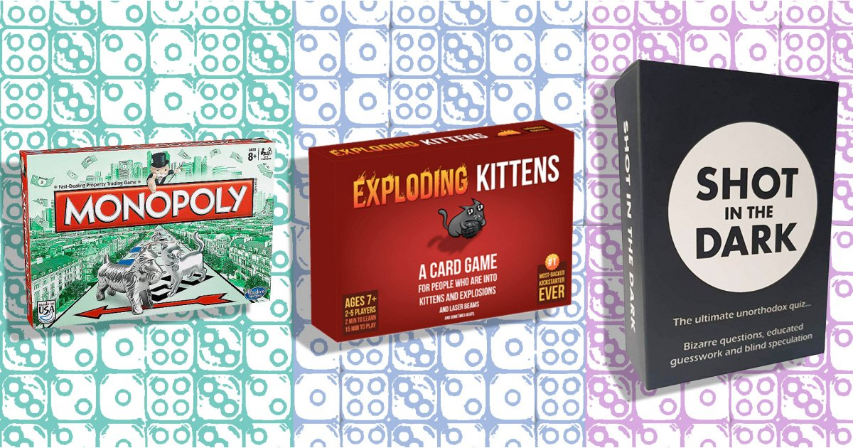 Best boardgames and other things to play while in lockdown
