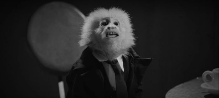 David Lynch's Netflix short stars him and a monkey