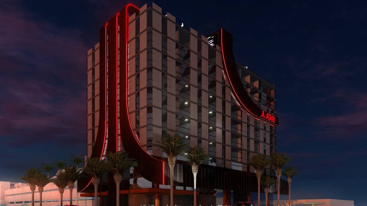 There's an Atari themed hotel coming soon