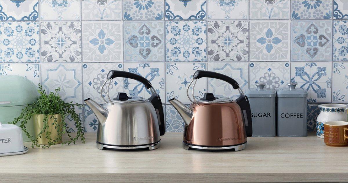 Russell Hobbs Steel Tea Kettles for