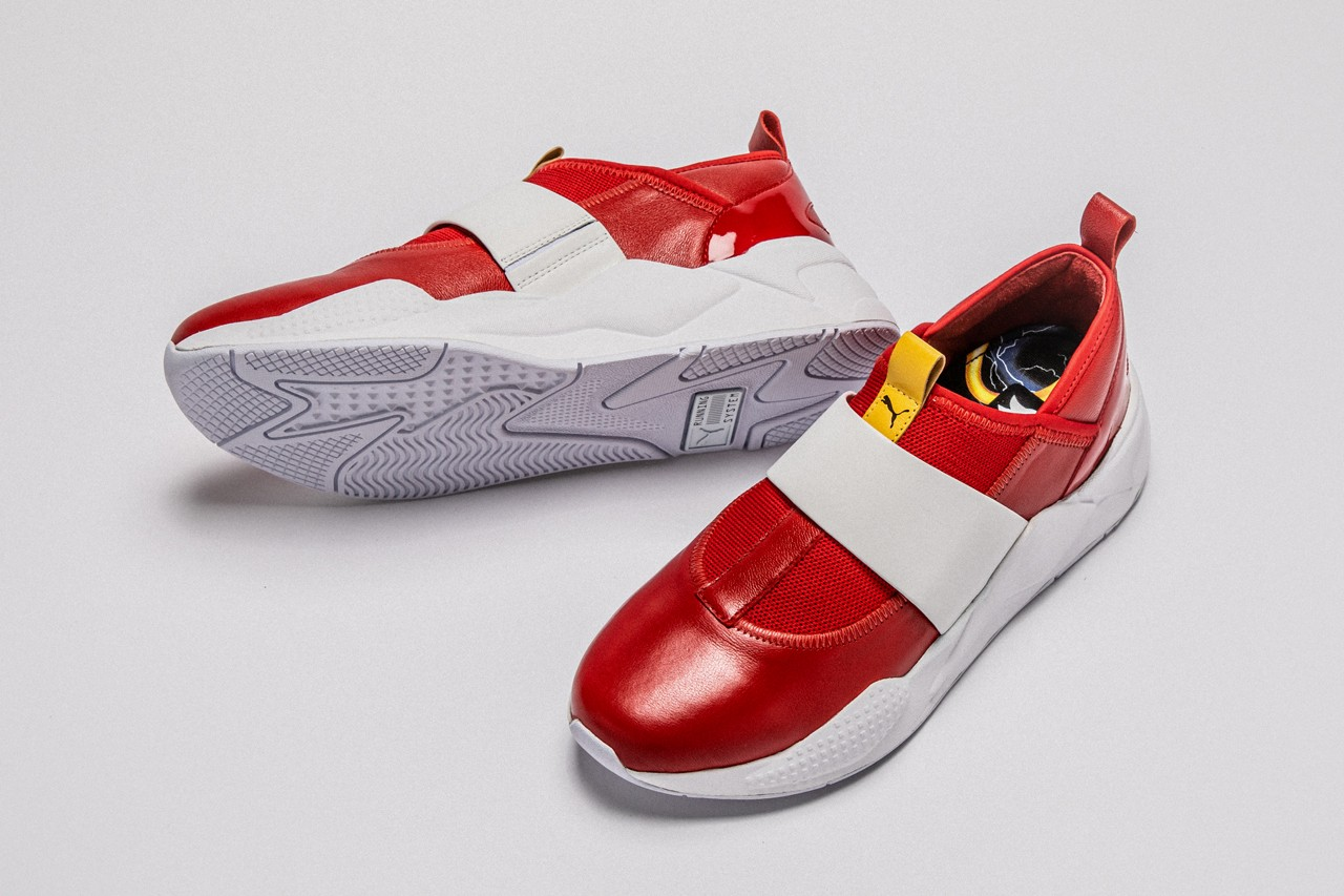 Puma's Sonic the Hedgehog shoes are