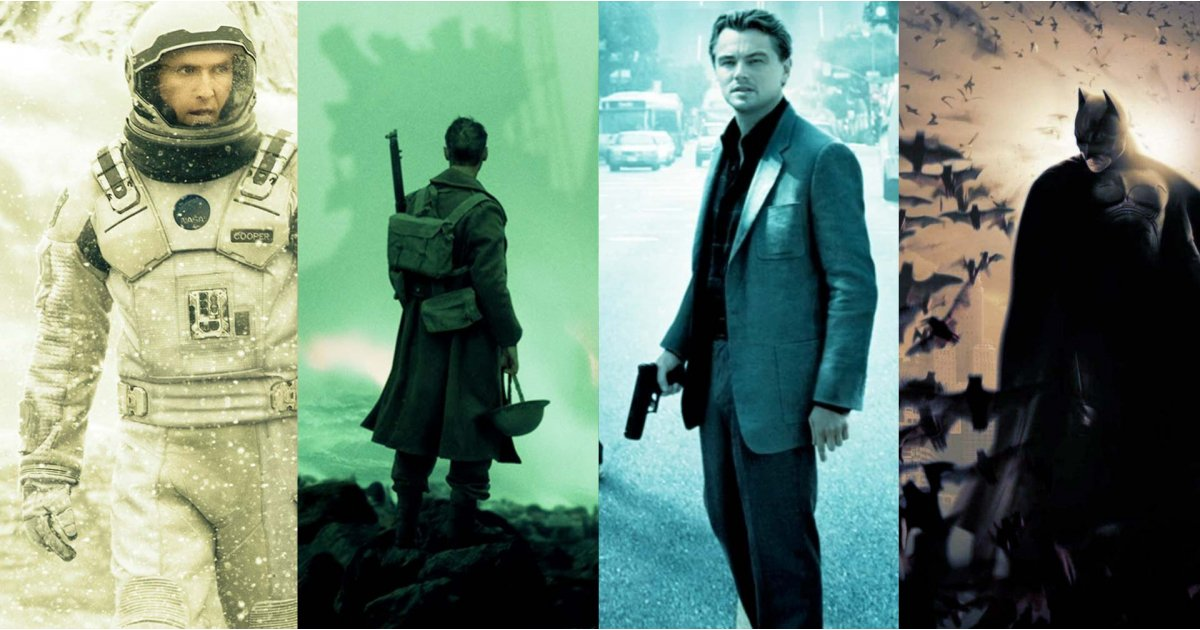 Best Christopher Nolan movies, ranked
