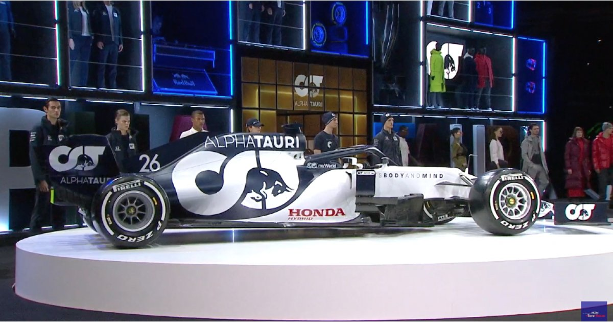 Alphatauri Rebrand And Reveal New Look F1 Car 5 Things To Know