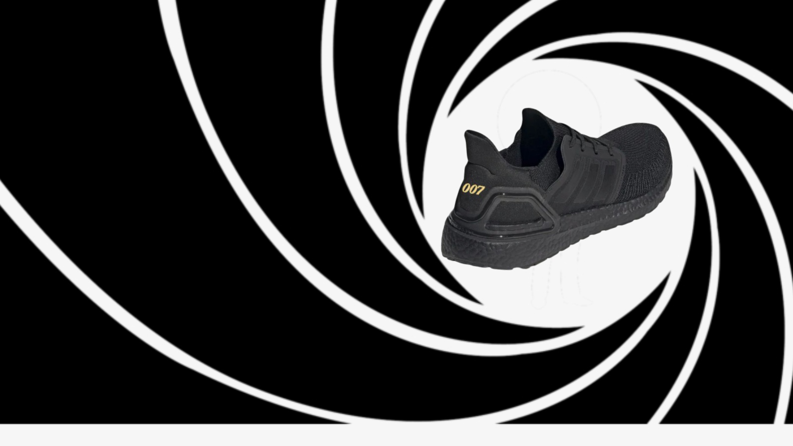 Indefinido pista cliente  James Bond x Adidas ultraBOOST 20 design is fit for any secret agent