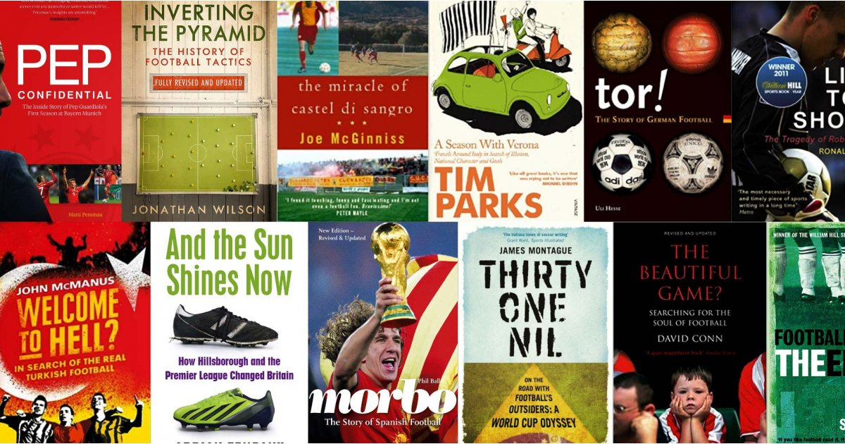 Best football books: brilliant books about the beautiful game