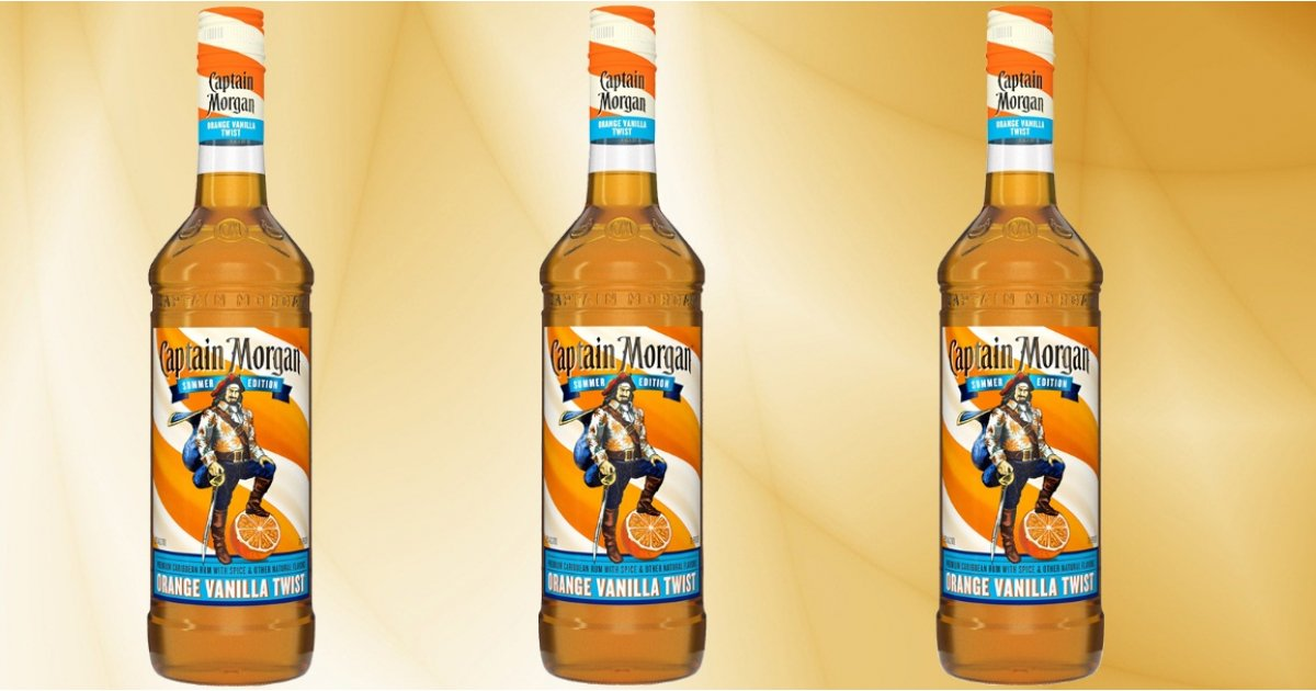Captain Morgan's new orange and vanilla rum tastes like summer