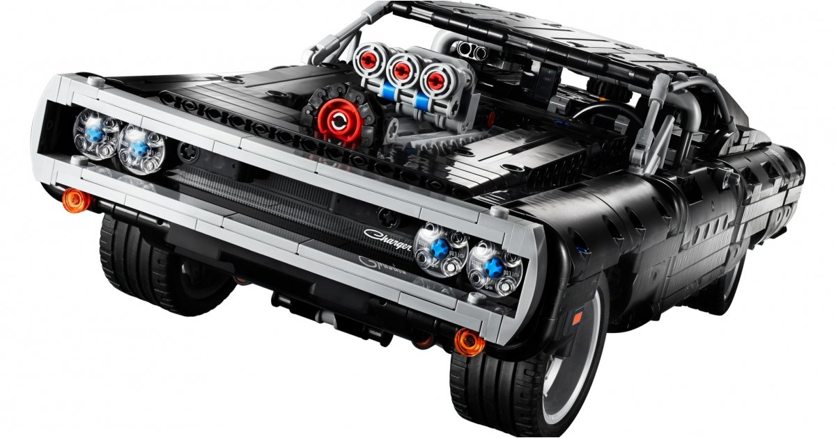 Fast and Furious fans can now buy a LEGO Dom's Dodge Charger