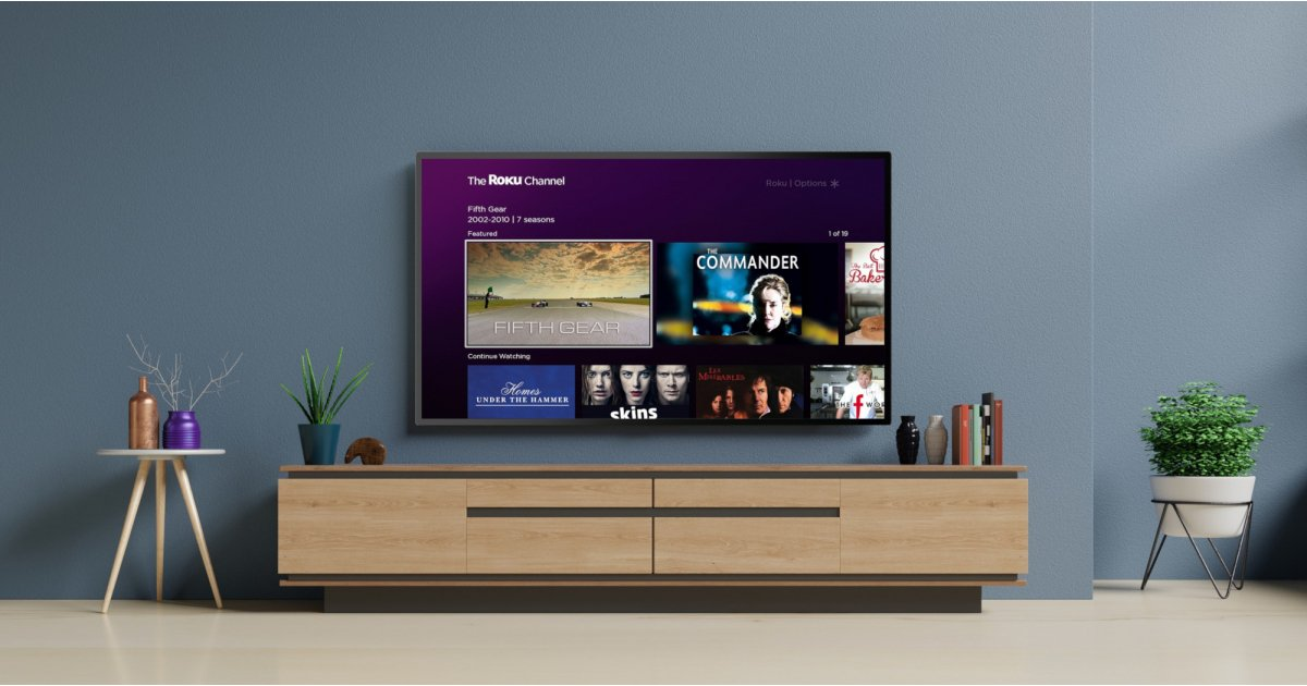 Roku has just launched a free channel that has 10,000 movies and shows