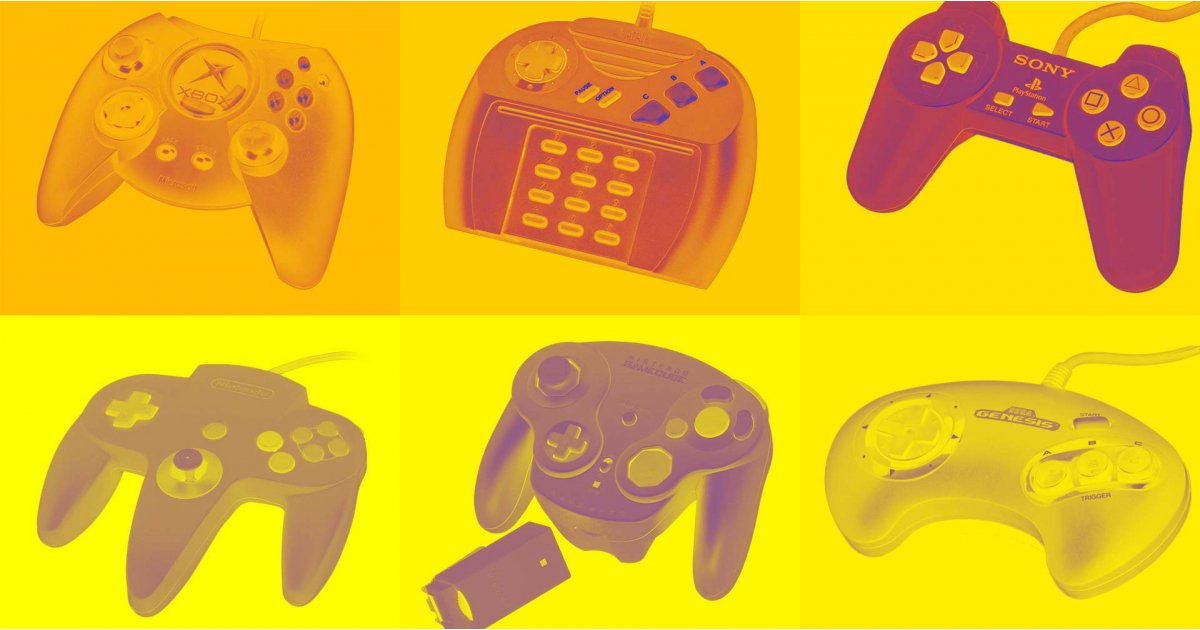History of the video game controller