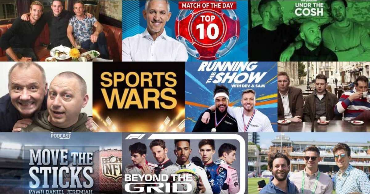 ​Best sports podcasts: top action from the worlds of rugby, F1, football and more