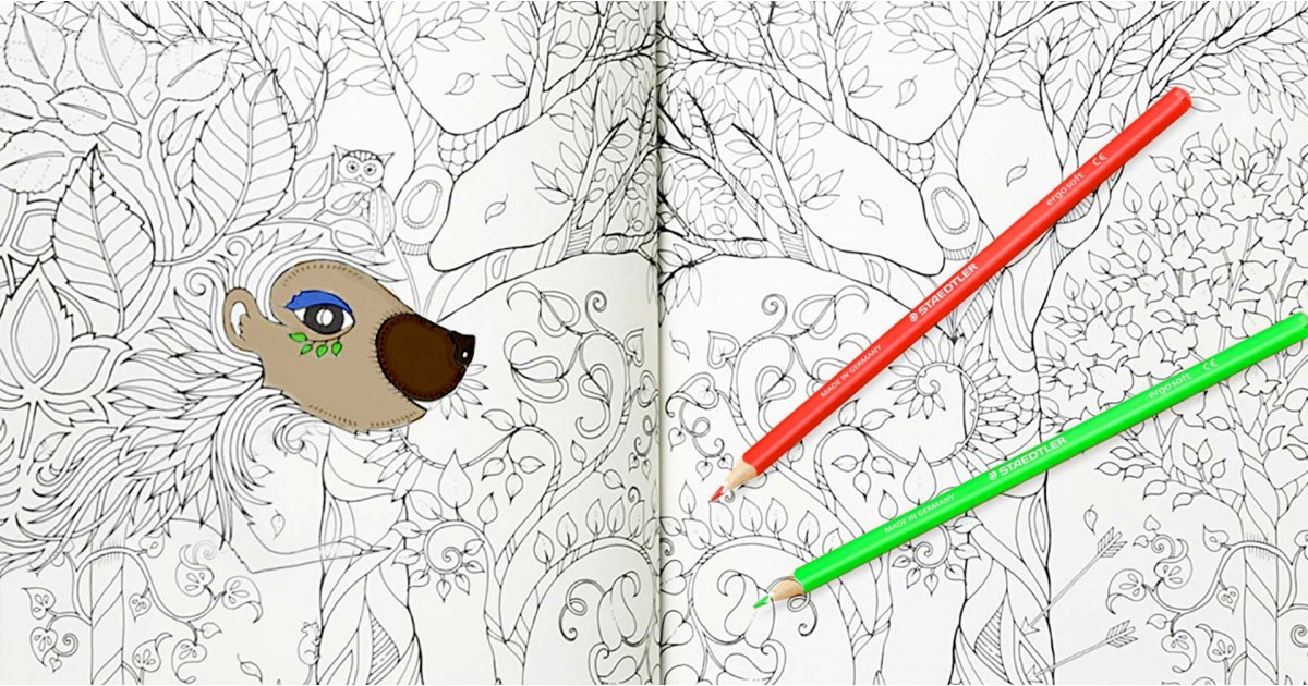 The best adult colouring books to while away the hours