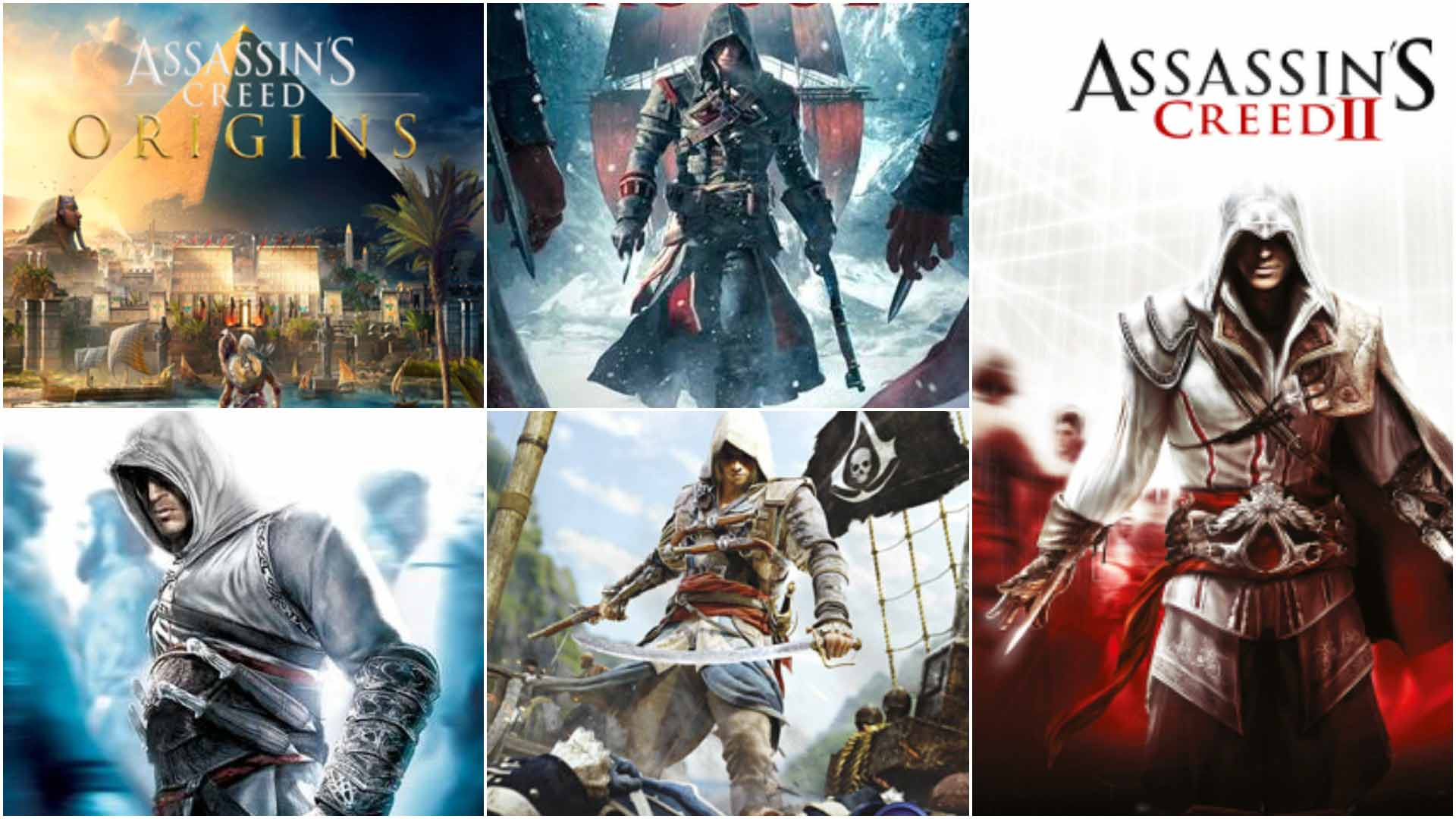 Best Assassin Creed Games Ranked