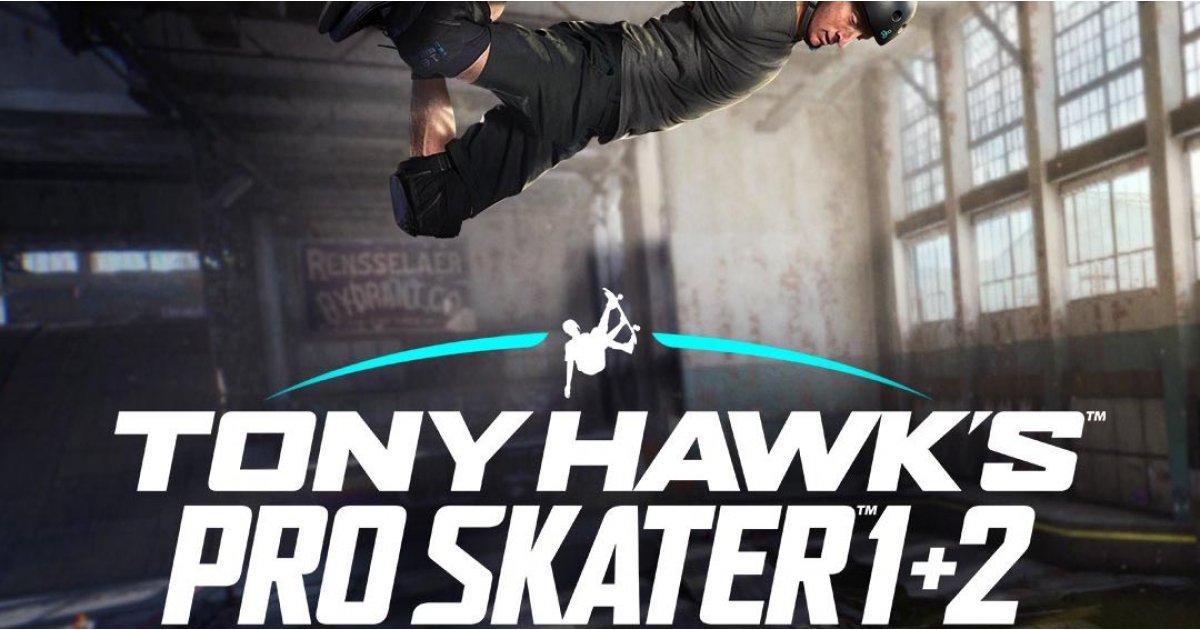 Tony Hawk's Pro Skater 1 and 2 remasters revealed