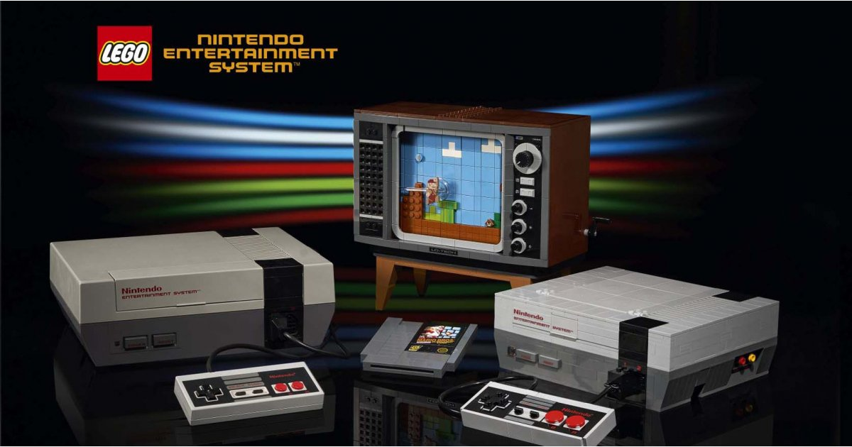 LEGO NES revealed: all the Nintendo and LEGO guides you need